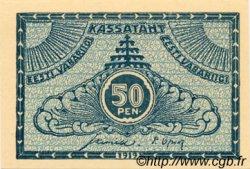 50 Penni ESTONIE  1919 P.42a NEUF
