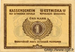 1 Mark ESTONIE  1919 P.43a SUP