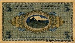 5 Marka ESTONIE  1919 P.45a TTB+