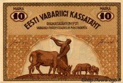 10 Marka ESTONIE  1919 P.46b SPL