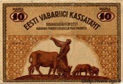 10 Marka ESTONIE  1919 P.46d B+