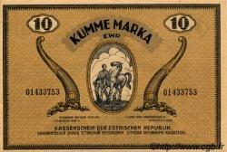 10 Marka ESTONIE  1919 P.46d TTB+