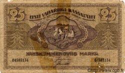 25 Marka ESTONIE  1919 P.47a AB