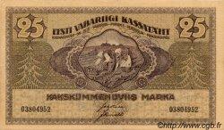 25 Marka ESTONIE  1919 P.47a SUP+