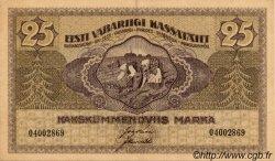 25 Marka ESTONIE  1919 P.47b SUP