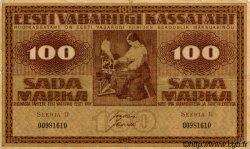 100 Marka ESTONIE  1919 P.48b TB+