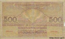 500 Marka ESTONIE  1920 P.49a pr.TB