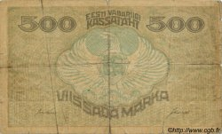 500 Marka ESTONIE  1920 P.49b pr.B