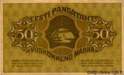 50 Marka ESTONIE  1919 P.55a TTB+