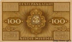 100 Marka ESTONIE  1921 P.56a TTB à SUP