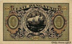 100 Marka ESTONIE  1922 P.58a TTB
