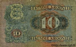 10 Krooni ESTONIE  1928 P.63a B