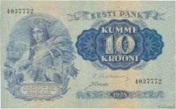 10 Krooni ESTONIE  1928 P.63a TTB+