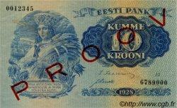 10 Krooni ESTONIE  1928 P.63s