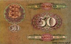 50 Krooni ESTONIE  1929 P.65a TB