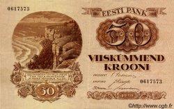 50 Krooni ESTONIE  1929 P.65a TTB+
