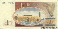1 Kroon ESTONIE  1992 P.69a TTB