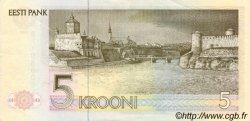 5 Krooni ESTONIE  1992 P.71b NEUF