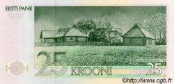 25 Krooni ESTONIE  1992 P.73b NEUF
