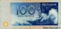 100 Krooni ESTONIE  1994 P.79a TB+