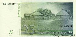 25 Krooni ESTONIE  2002 P.84a NEUF