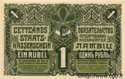 1 Rublis LETTONIE  1919 P.02b SPL