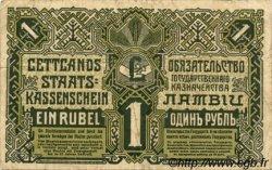 1 Rublis LETTONIE  1919 P.02b TB