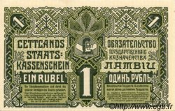 1 Roublis LETTONIE  1919 P.02b pr.NEUF