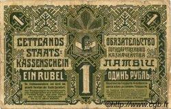1 Rublis LETTONIE  1919 P.02b pr.TB
