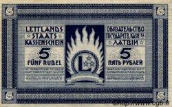 5 Rubli LETTONIE  1919 P.03f SPL+