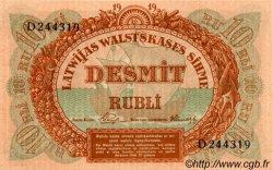 10 Rubli LETTONIE  1919 P.04e NEUF