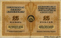 25 Rubli LETTONIE  1919 P.05h TB