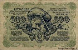 500 Rubli LETTONIE  1920 P.08a TTB