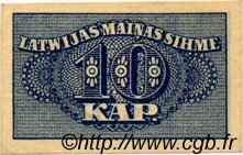 10 Kapeikas LETTONIE  1920 P.10a SUP
