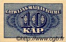 10 Kapeikas LETTONIE  1920 P.10a NEUF