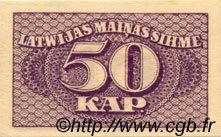 50 Kapeikas LETTONIE  1920 P.12a pr.NEUF