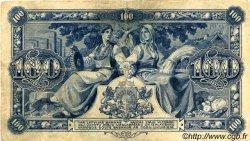 100 Latu LETTONIE  1923 P.14a TB