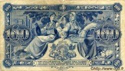 100 Latu LETTONIE  1923 P.14b TB