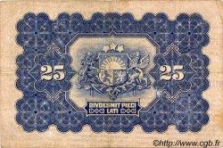 25 Latu LETTONIE  1928 P.18a TB+