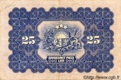 25 Latu LETTONIE  1928 P.18a TTB