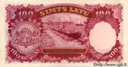 100 Latu LETTONIE  1939 P.22a SPL