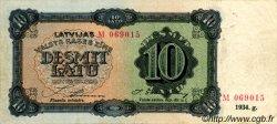 10 Latu LETTONIE  1934 P.25c TTB