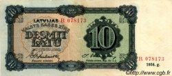10 Latu LETTONIE  1934 P.25d TTB