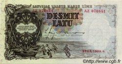 10 Latu LETTONIE  1938 P.29b pr.NEUF