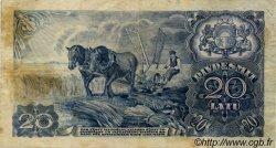 20 Latu LETTONIE  1940 P.33a TB+