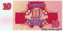 10 Rublu LETTONIE  1992 P.38 NEUF