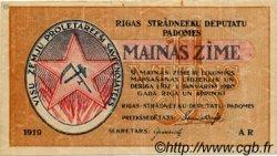 1 Rublis LETTONIE Riga 1919 P.R1 TTB
