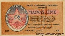 1 Rublis LETTONIE  1919 P.R1 SUP+