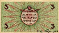 3 Rubli LETTONIE  1919 P.R2a SPL
