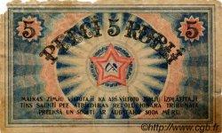 5 Rubli LETTONIE  1919 P.R3a B
